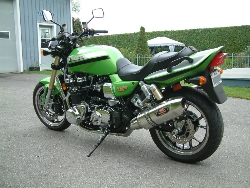 Robert Bolduc's ZRX 1300 From Canada